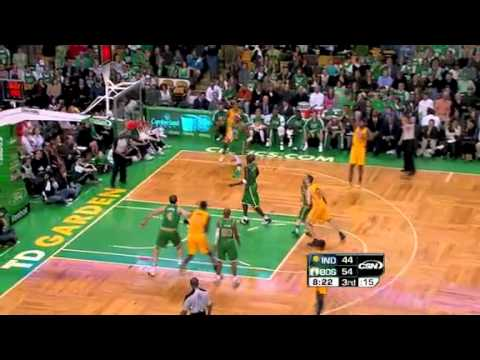 2010-11 Boston Celtics VS Indiana Pacers (Jeff Green!)