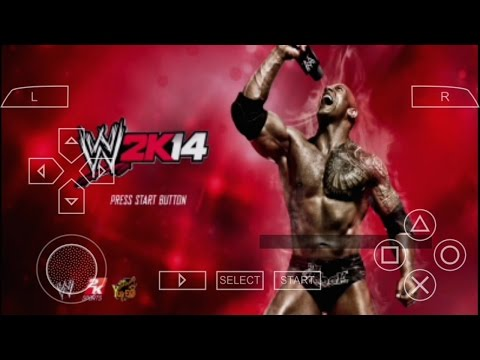 Wwe 2k14 Gameplay In Android Phone (PPSSPP) 2017