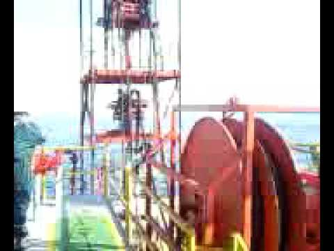 Trabajos petroleros Costa afuera. Coiled Tubing. Offshore.