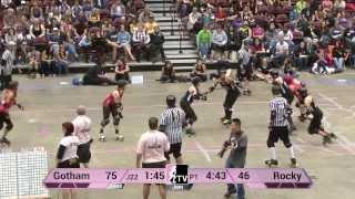 Gotham Girls Roller Derby v Rocky Mountain Rollergirls: 2013 WFTDA D1 Playoffs in Asheville