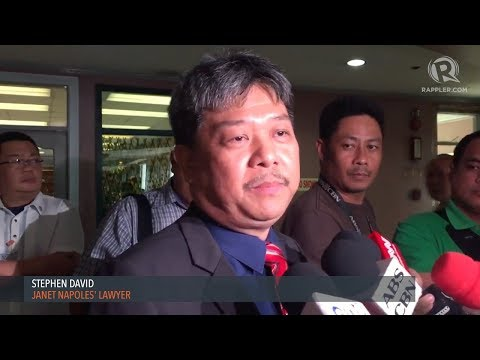 Medialdea advised Napoles lawyer on jail transfer
