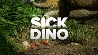 Dinosaur Eats Poison Mushrooms!