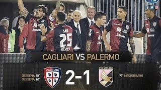 Cagliari-Palermo 2-1 Sintesi SKY HD - Highlights - All Goals