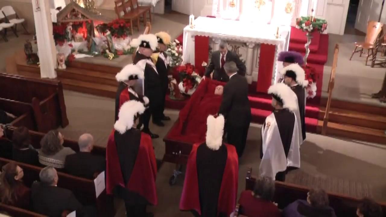 Fr. Howard McCasland Funeral  12-31-10