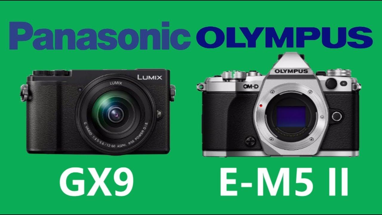 Panasonic LUMIX GX9 vs OLYMPUS OM-D E-M5 Mark II