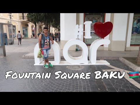 FOUNTAIN SQUARE BAKU | AZERBAIJAN 2018