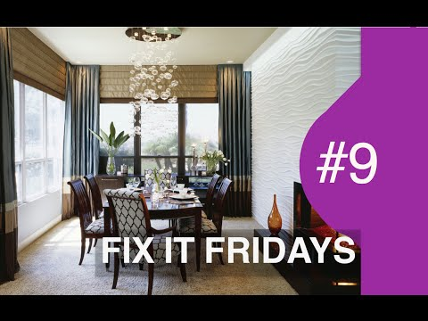 Interior Design | WOW Dining Room | Fix It Fridays Ep.9