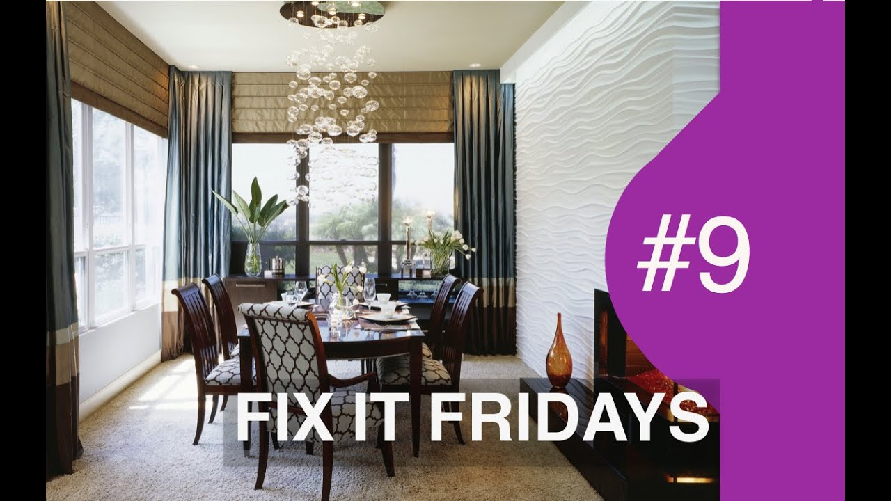 Captivating Interior Design | WOW Dining Room | Fix It Fridays Ep.9