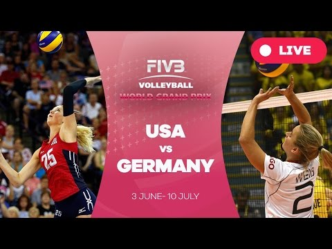 United States v Germany - Group 1: 2016 FIVB Volleyball World Grand Prix