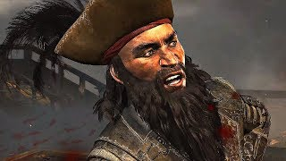 "Assassin's Creed 4 - Death of Thatch ""Blackbeard"" (4K 60FPS)"