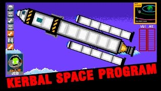 8-Bit Kerbal Space Program - NES Gameplay