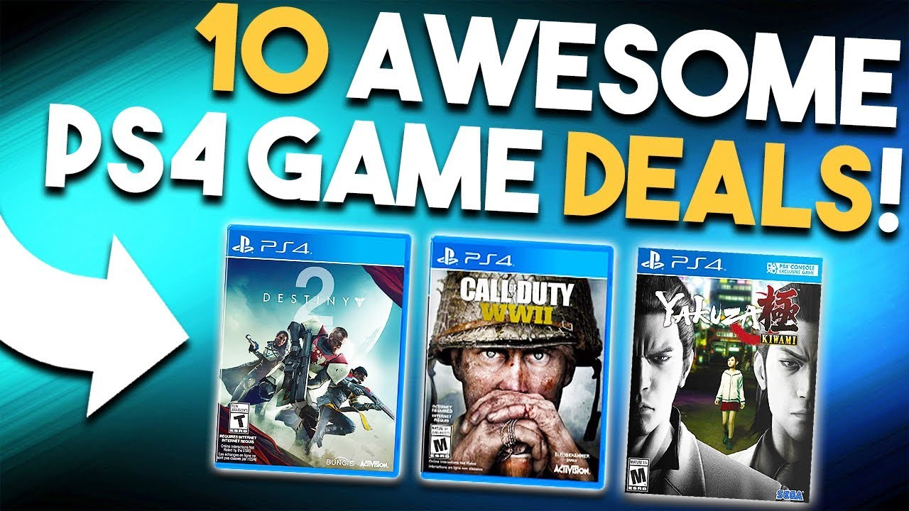 10 Awesome Ps4 Game Deals Available Right Now Best