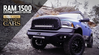 dodge ram 1500 custom limited edition by exclusive cars