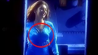 Hansika nipple visible in Tamil song