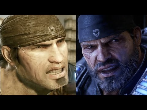 Young Marcus Getting Angry vs Old Marcus Getting Angry Gears 5