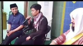 video momen pemuda bandung bertemu imam masjidil haram