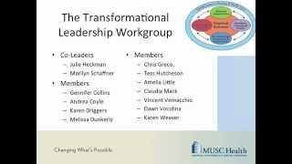 nursing strategic plan transformational leadership part 1