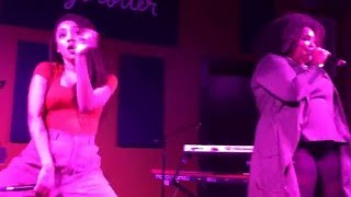 """Lizzo and Sophia Eris """"Batches & Cookies"""" live at Daytrotter 17-feb-2016"""