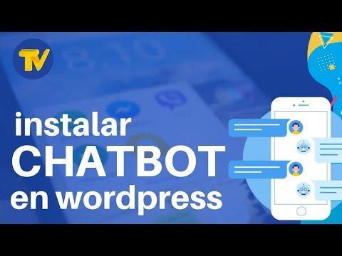 Instalar Y Configurar Un Chatbot En Wordpress | Gratis