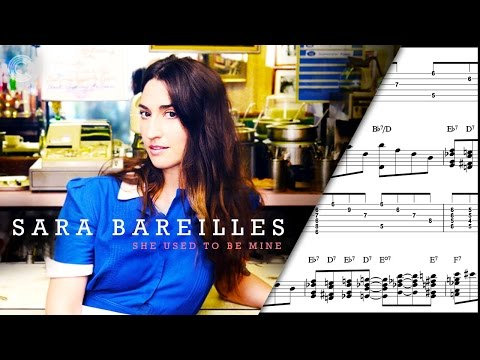 Alto Sax - She Used To Be Mine - Sara Bareilles - Sheet Music, Chords, & Vocals