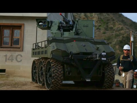 US Marine Corps - Military UGV & Equipment Field Testing At Urban ANTX 2018 [1080p]
