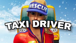 Fortnite Roleplay TAXI LIFE! #52