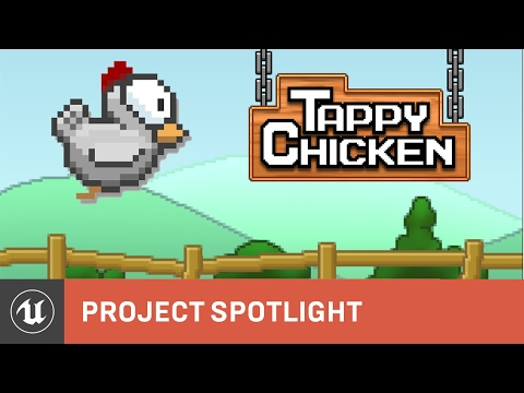Tappy Chicken is no usual Flappy Bird clone, it was made in a week with no coding