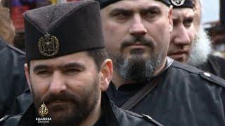 Podjela na četnike i partizane u Srbiji