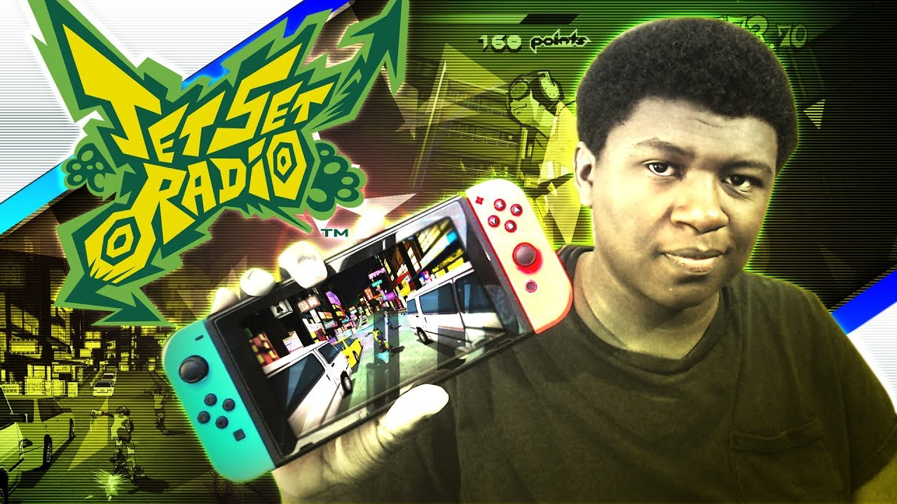 JET SET RADIO COMING TO NINTENDO SWITCH!? | Jet Set Radio SEGA AGES