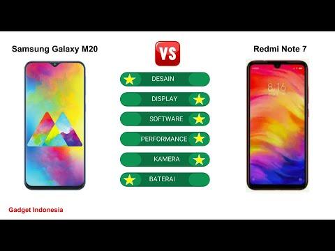 Samsung Galaxy M20 vs Redmi Note 7   Mana Lebih Baik ?