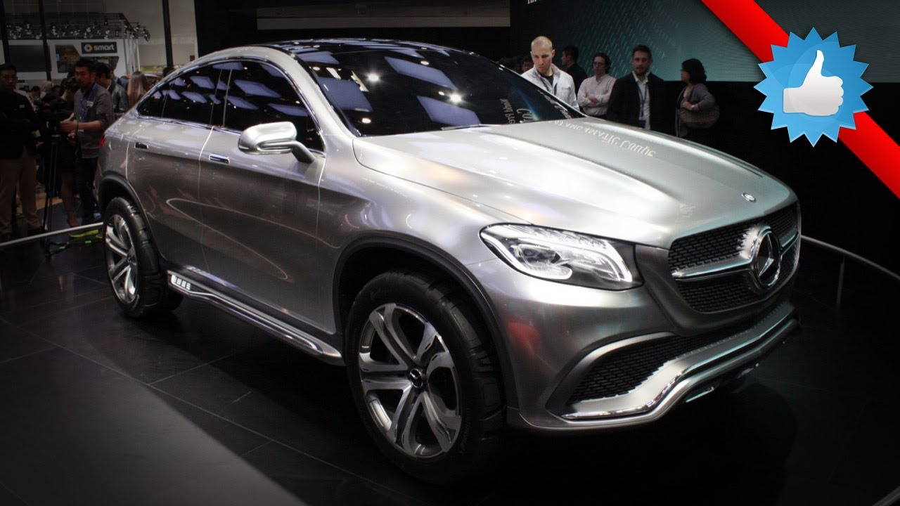 2016 mercedes benz concept coupe suv beijing 2014 youtube for Mercedes benz suv coupe