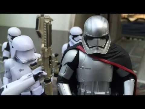 Star Wars Stop Motion [ES][DQ]Heroes United Episode 7[ES][DQ] The Escape PART 1