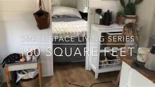 Gambar cover Small Space Living Series- 180 Square Feet RV Tour
