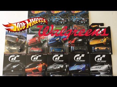 My Latest Hotwheels Haul From Walgreens - YouTube