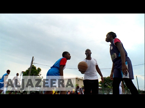 Basketball dreams for Gabon's young stars