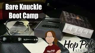 Bare Knuckle Boot Camp Pickups - Upgrading a Telecaster with True Grit