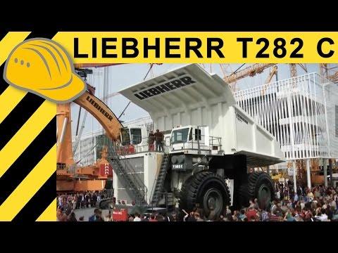 extreme machines liebherr t282 c biggest truck in the world inside xxl muldenkipper. Black Bedroom Furniture Sets. Home Design Ideas