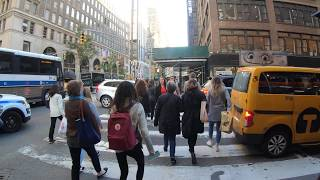 ⁴ᴷ⁶⁰ Walking NYC (Narrated Q&A) : 5th Avenue, Midtown to Church Street, TriBeCa