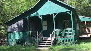Taft Cabin Renovation May 2018 Allegany State Park