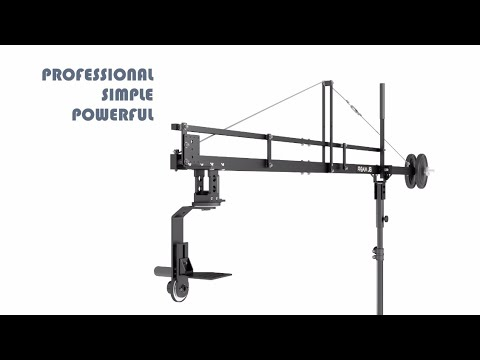 12 ft Compact Camera Crane Mini Pro Jib boom 8 Proaim Heavy Duty Astra 4