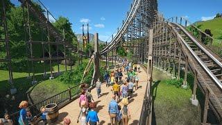REALISTIC THEME PARK TYCOON | Planet Coaster #1