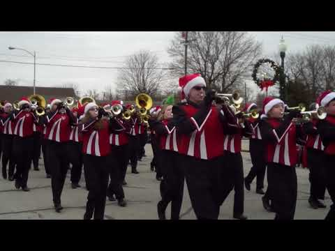 Carl Junction High School Marching Band - CJ Christmas Parade 2018