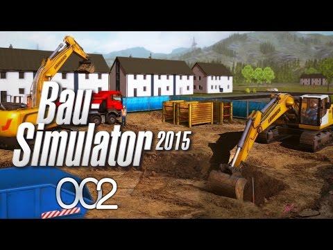 BAU-SIMULATOR 2015 #002 ► Die Trottel-Arbeiter «» Let's Play Bau-Simulator 2015