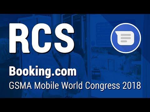 Booking.com RCS Demo | Mobile World Congress 2018
