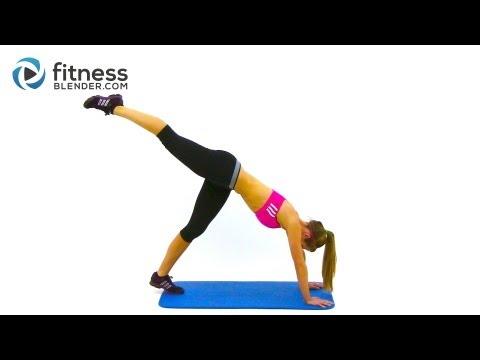 Fitness Blender's Butt Lift Workout - Butt Toning Exercises