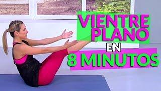 Vientre plano en 8 minutos – Vida Zen