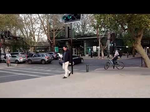 Una tarde cotidiana en Santiago - Chile post trabajo