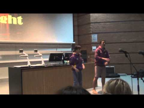 UQG Res Club Talent Night 2013  Dana Flynn and Josh Gardner  Don't Stop Me Now Queen