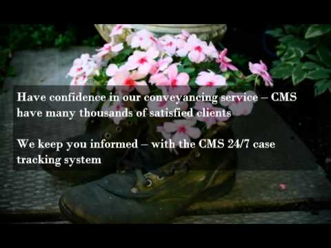 Conveyancing Services from CMS