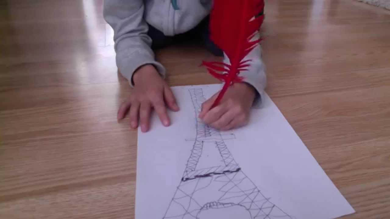 Comment Dessiner La Tour Eiffel Youtube